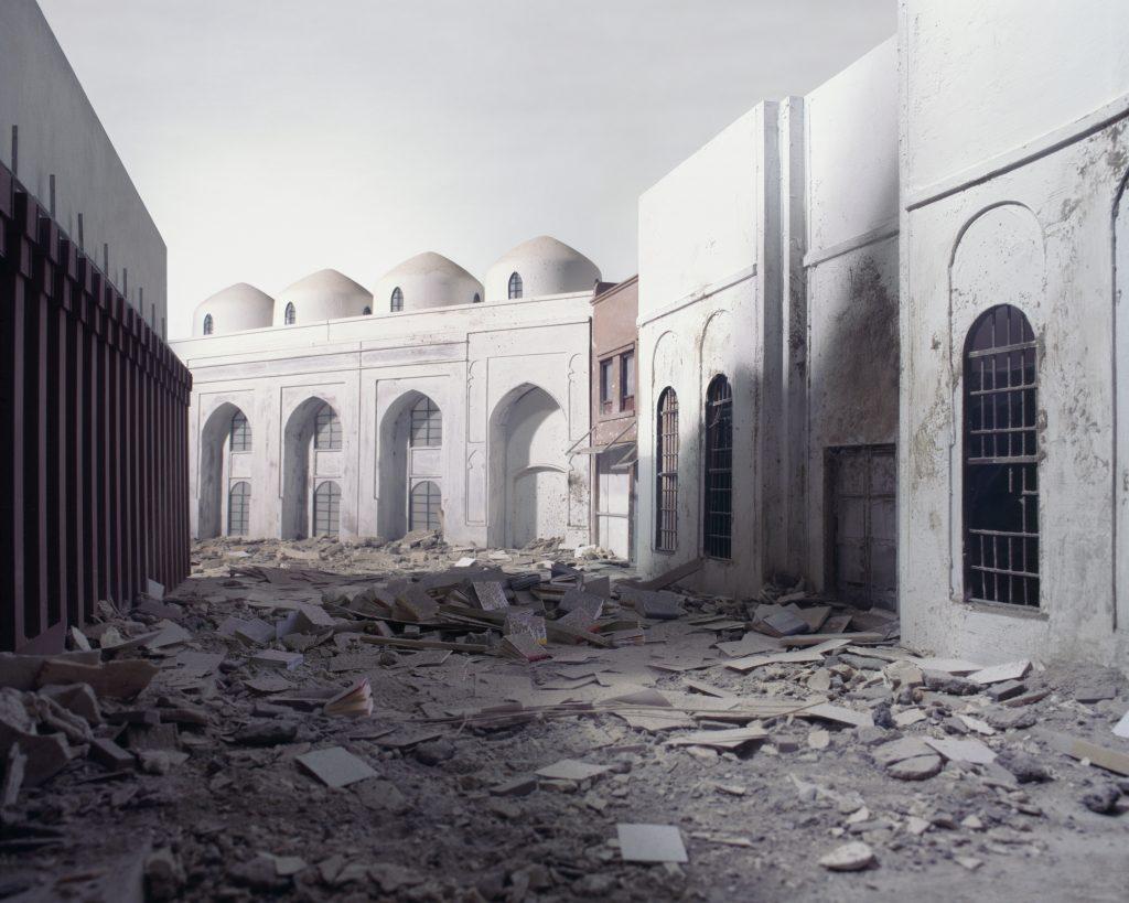 Wafaa Bilal_The Ashes Series_Al-Mutanabbi Street_2003-2013