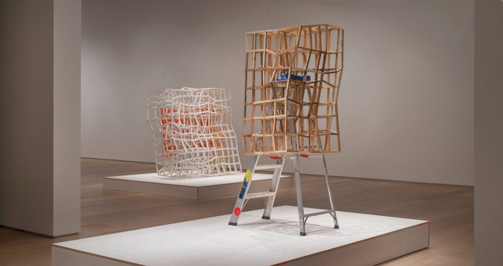 Installation view of Samuel Roy-Bois: Presences (2020).